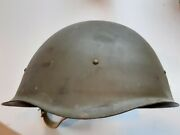 Ww2 Italian Army Carcano M-1891 Green Leather Pouch Belt And T 35 And Camo Tent