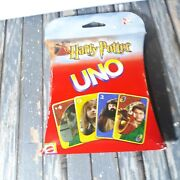 Harry Potter Uno Card Game Mattel 2002 New Sealed
