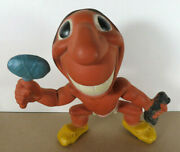 1940s Cleveland Indians Rempel Mascot Rubber Squeak Toy 1 Pre Chief Wahoo Mlb