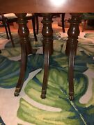 Duncan Phyfe Style 1937-41 Dinning Table Chairs And Buffet
