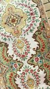 2and0398x12and0395 Vintage Semi-antique Hand Knotted Persan Tabrizi Wool Silk Rug Runner