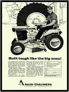 1967 Allis Chalmers Lawn Mowers,garden Tractors New Metal Sign Milwaukee, Wi