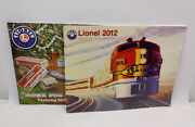 Lot Of 2 Lionel Train Catalogs / Magazines 2012 Ready To Run / Christmas