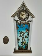 2020 Hallmark The Beauty Of Birds Musical Clock With Light Sound And Motion Nib