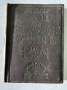 Antique 1921 Audels Engineers And Mechanics Guide 3 Theo. Audel Ny Locomotives