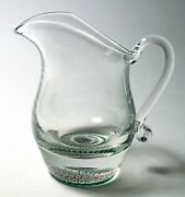 Perthshire Pp23 Paperweight Creamer Or Pitcher With Concentric Millefiori Design