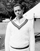 Old Cricket Photo West Indian Cricketer Lance Gibbs At Arundel 1964