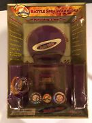 Battle Spin Warriors Vintage With Battle Dome Power Launcher, Dish, 2 Tops +more