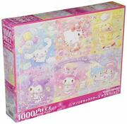 Jigsaw Puzzle Sanrio Characters Glitter Shop