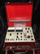 Vintage Honda Service Tester Tool W/ Accessories Tach Timing Cables Kowa Srh-500