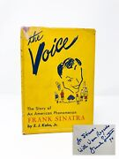 Signed 1st Ed - The Voice The Story Of An American Phenomenon Frank Sinatra