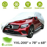 Waterproof Car Full Cover Outdoor Sun Protection For Dust Rain Snow Protective