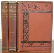 Anthony Trollope 1815 1882 / Is He Popenjoy A Novel First Edition 1878