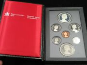 Royal Canadian Mint 1986 Special Edition Proof Set Silver Bronze Nickel Lot477