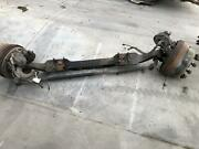 2004 Ford F750 Front Axle Assembly 12,000lb 10lug Bubb Pilot Brakes/drums 90