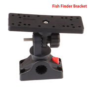 Universal Rotatable Electronic Fish Finder Mount Plate Rotating Boat Support Ee
