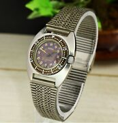 Chaika Amphibia 1609a Ussr Soviet Collectible Stainless Steel Rare Wristwatch