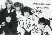 Dave Dee, Dozy, Beaky, Mick And Tich Autograph, Signed Photo