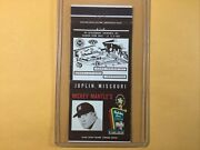 Mickey Mantle Holiday Inn Diamond Matchbook Joplin Missouri - Ny Yankees Rare
