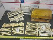 Vintage Metal Marx Roy Rogers Double R Bar Ranch Gate Chute And Bunk House Playset