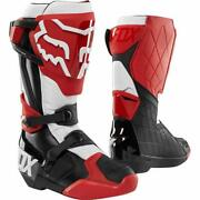 Fox Racing Comp R Boots Size 14 Red/black/white