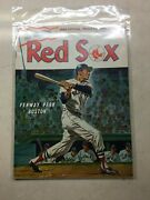 Mickey Mantle Last Game Yankees @ Red Sox Program Sept 28 1968 Near Mint
