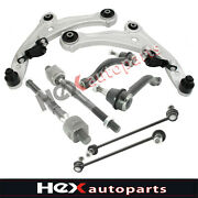 8pc Front Control Arms Kit Tie Rods For 2007 2008-2012 Nissan Altima 2.5l 3.5l