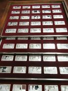 100 Greatest Americans Proof Set Franklin Mint Sterling Silver -missing 1 78