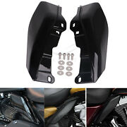 Heat Shield Mid-frame Air Deflector Trim For Harley Electra Glide Ultra Classic