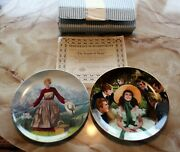 2 Plates The Sound Of Music By Knowles Scarlett And Her Suitors By George Excel