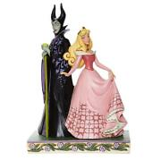 Jim Shore Disney Traditions 'sorcery And Serenity' Aurora And Maleficent 6008068