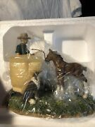 The Clydesdale Collection Scottish Farmer Figurine With Coa Clyde7