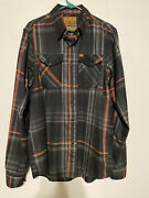Dixxon Flannel Company Fox Racing Collaboration Men's Large Tall Lt Sold Out