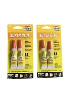 The Original Super Glue Tube 2-pack For Metal Wood Rubber And Plastic Home