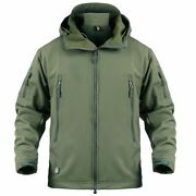 Men Military Jacket Us Army Tactical Sharkskin Softshell Autumn Winter Outerwear
