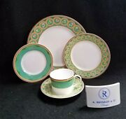 Raynaud Olivia Dinner Salad Bread And Butter Cup And Saucer