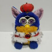 Rare Furby Your Royal Majesty 2000 Special Limited Edition Purple Eyes