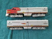 Gilbert American Flyer 360 And364 Santa Fe A-b Diesel Engines+oband039s+wrap+serviced