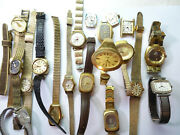 Accutron Lady Bulova Accutron Watches And Bands For Restoration Parts Vintage