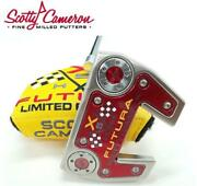 Mint Scotty Cameron Holiday 2014 Futura X5 Limited Putter 1000 Super Rare 34inch