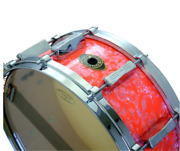 beyond Shimano Revival Series Bs4055d 14 × 5 1/2 Pure Pearl Pink Snare Drum