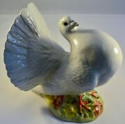 Very Rare Beswick Fantail Pigeon 1614 Made 1959 - 1969 Only Bird