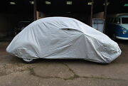 Deluxe Vw Classic Beetle Cover In/outdoors Air-vented Waterproof Silver C9426