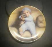 1992 Enesco Bessie Pease Gutmann Mini Collector Plate Going To Town - 3 1/2