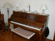 Kimball Upright Piano With Bench