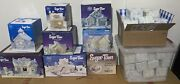 Precious Moments Sugar Town Collection 70 Pieces Total 8 Houses And 62 Figures