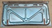 Trunk Lid 1967 1968 Ford Mustang Coupe Convertible C7zz-6540110 Blue Deluxe