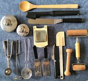 Vintage Pampered Chef Assorted Kitchen Tools Gadgets Lot Of 15andnbsp