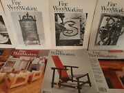Fine Woodworking Vintage 40 Magazines Back Issues 1976-2004 Carpentry Lot