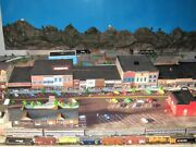 N Scale Train Layout Historic Truckee Cal Free Shipping Exclude Western States